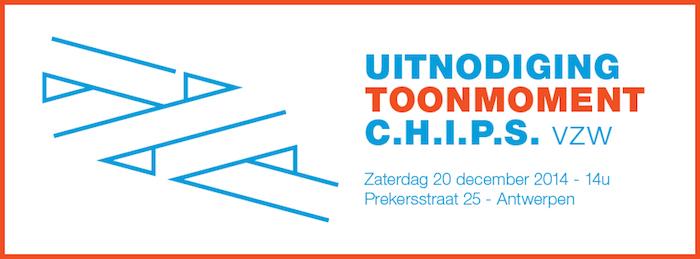 Uitnodiging Toonmoment C.H.I.P.S. vzw