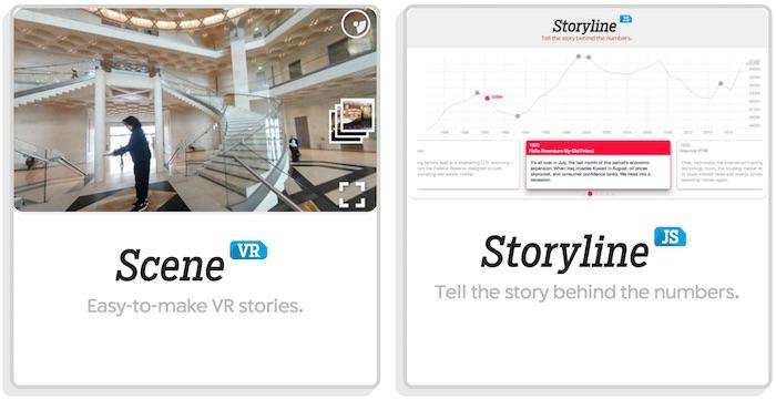 SceneVR en StorylineJS